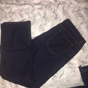 Loft Curvy Straight jeans, Size 18, NWT